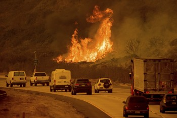 Работа аэропорта Сан-Франциско нарушена из-за лесных пожаров