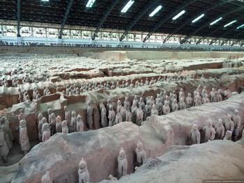 В Китае археологи нашли мини-версию терракотовой армии