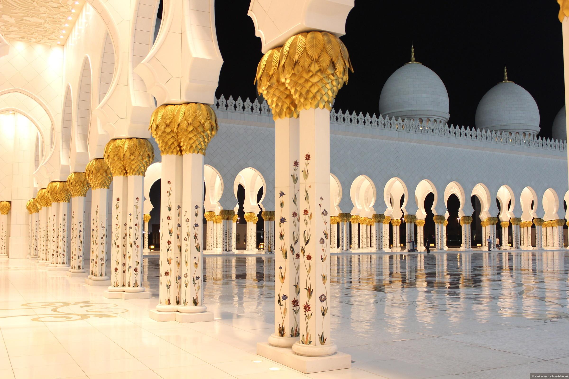дубай мечеть шейха зайда фото