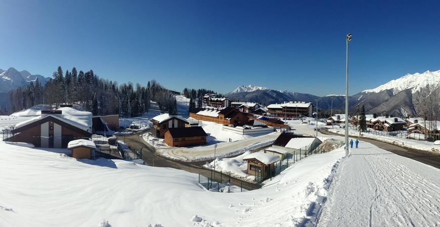Дополнительная горная Олимпийская деревня