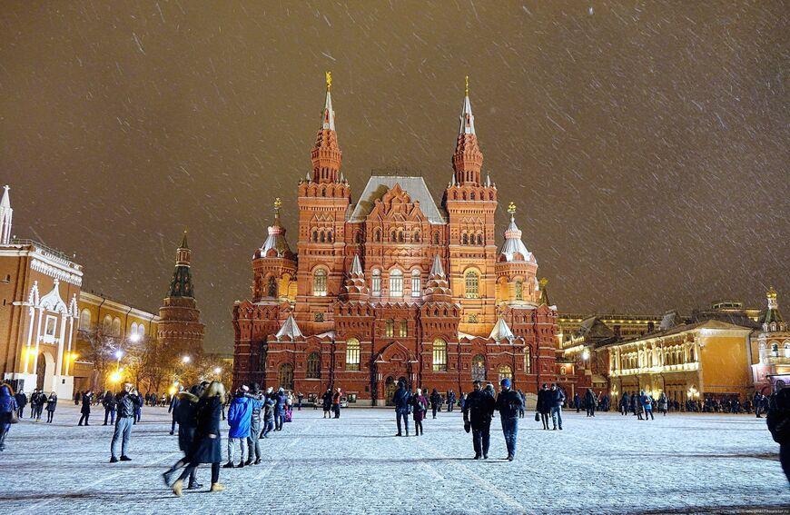 Исторический музей в Москве (на Красной площади)