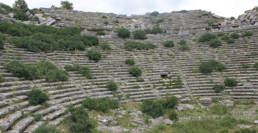 Античный город Сельге в Анталии (Selge)