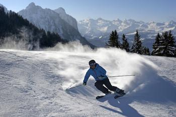Состояние склонов на горнолыжных курортах Швейцарии можно отследить онлайн