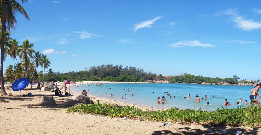 Пляж Бакуранао (Playa de Bacuranao)
