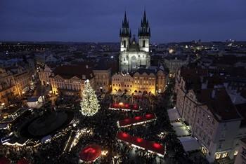 В Праге открываются рождественские базары