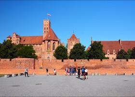 Мальборк — замок-город