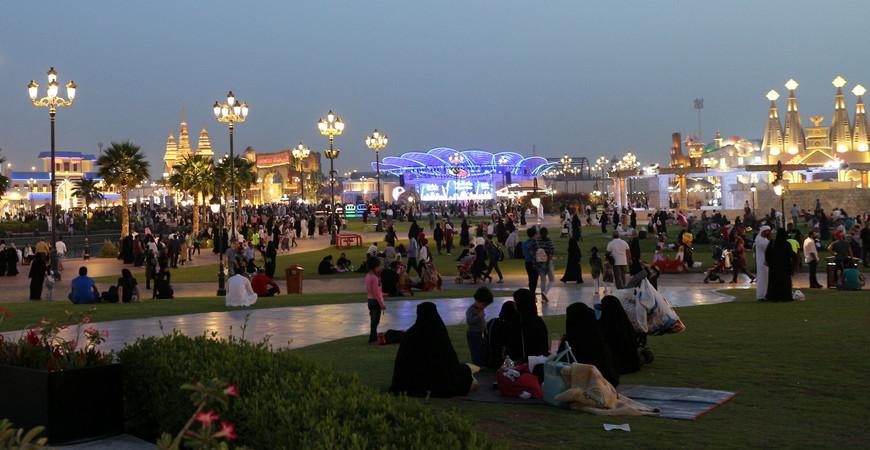 Ярмарка Глобал Вилладж в Дубае