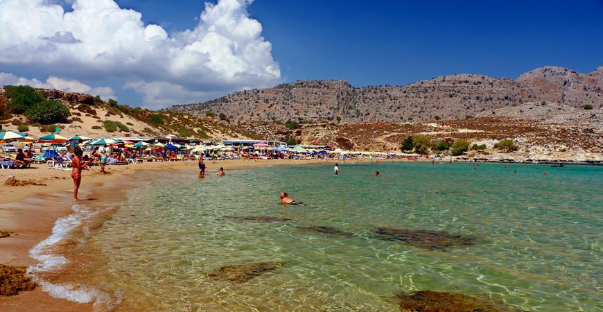 Пляж Агати