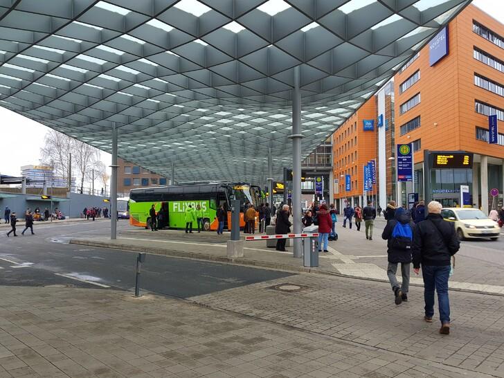 Автовокзал Ганновера