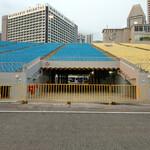 Плавучий стадион в Сингапуре