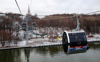 Канатная дорога в Москве приостановила работу из-за кибератаки