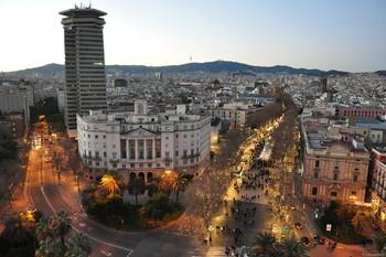 Улицу Рамбла в Барселоне реконструируют