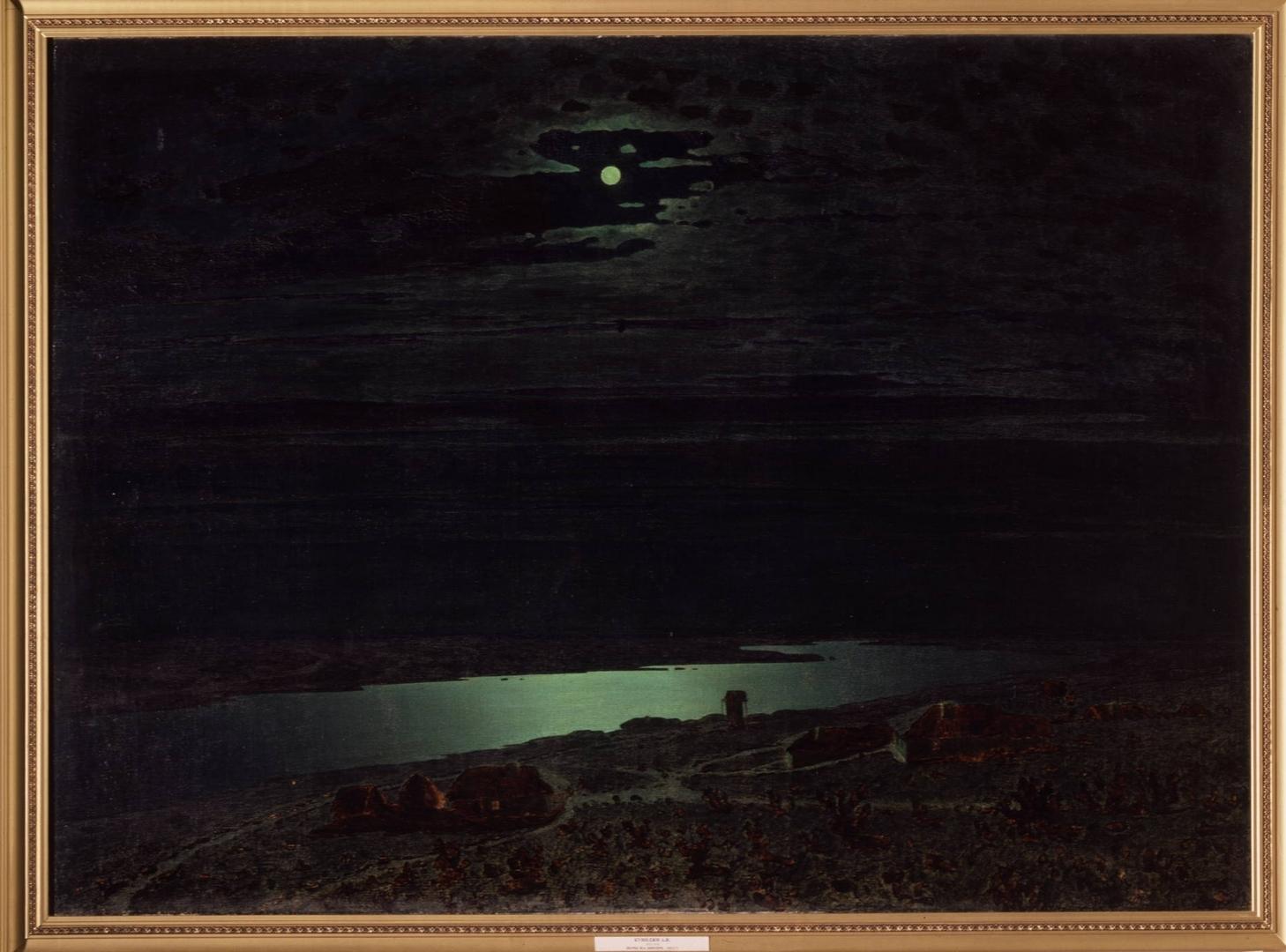 Картина с луной в русском музее течение