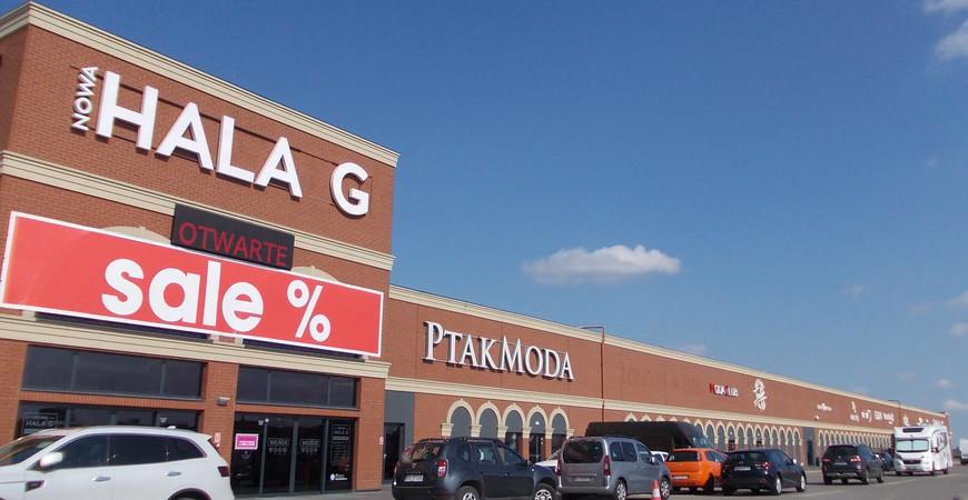 Торговый центр Птак Мода (Ptak Moda)