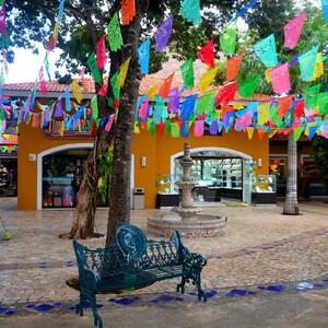 От отеля до Плайя-дель-Кармен