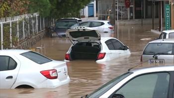 Турецкий курорт Бодрум страдает от наводнения