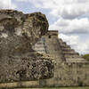 Пирамида Кукулькана в Чичен Ице