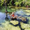 Великолепный сенот Азуль. Сеноты штата Quintana Roo, Карстовые озера