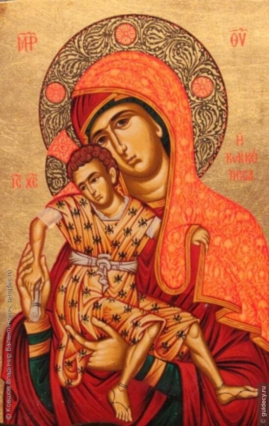 Киккская богородица на кипре фото