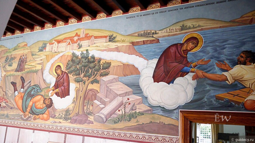 Киккская икона Божией Матери. История на Кипре и в России.