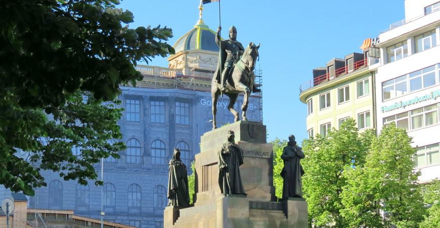 Памятник Святому Вацлаву в Праге (Pomnik svateho Vaclava)