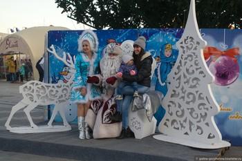Российские туристы для новогодних путешествий выбирают Москву и Крым