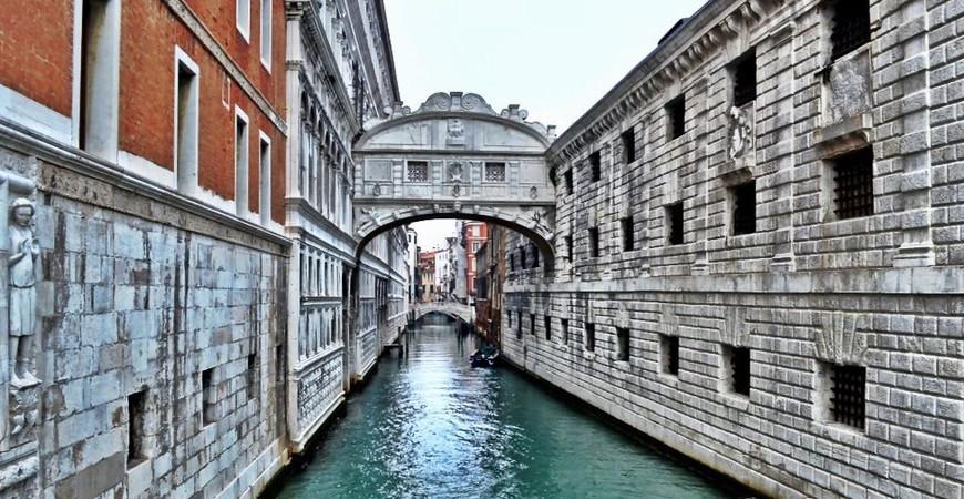 Мост Вздохов в Венеции (Ponte dei Sospiri)