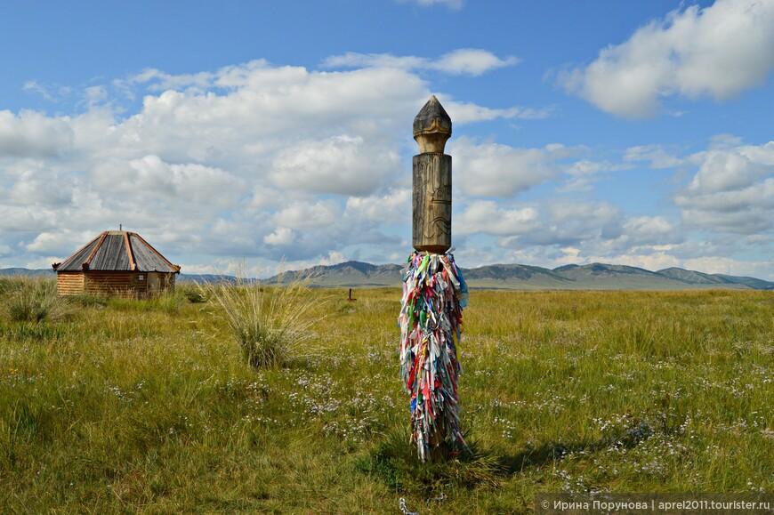 А это уже территория Большого Салбыкского кургана.