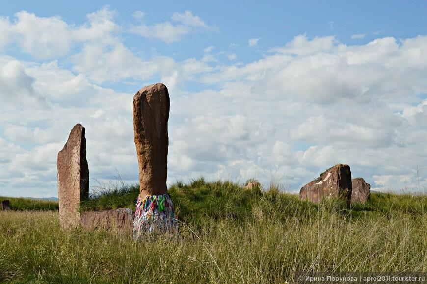 Большой Салбыкский курган является крупнейшим археологическим памятником Хакасии.