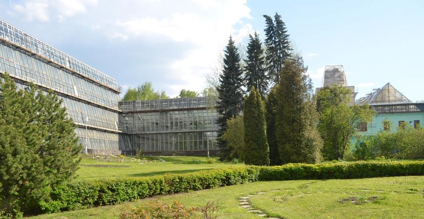 Сибирский ботанический сад в Томске