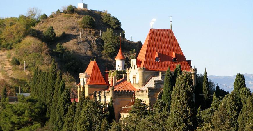 Дворец княгини Гагариной в Крыму