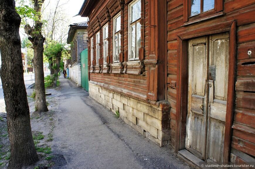 Улица Осташева.