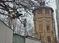 Вид на водонапорную башню со стороны улицы Речная