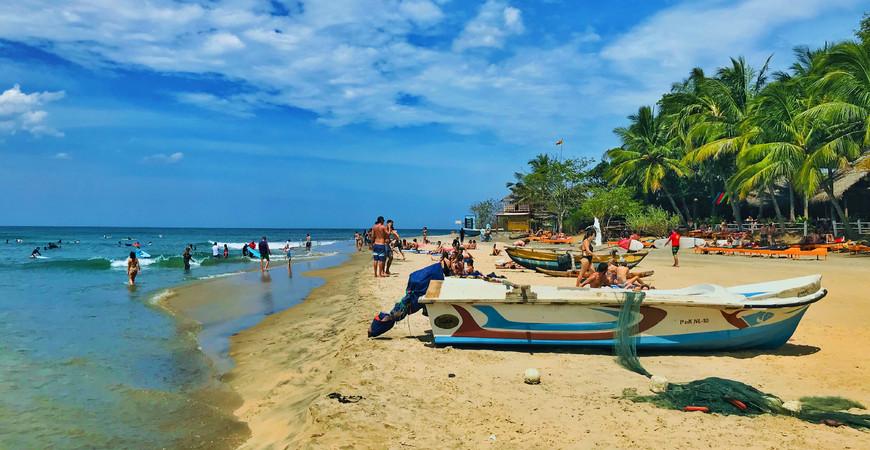 Пляж Аругам Бей (Arugam Bay)