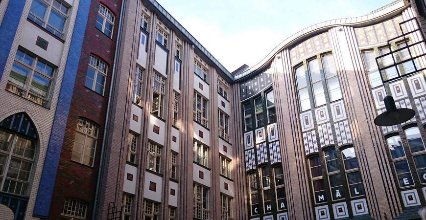Хакские дворы (Hackesche Höfe)
