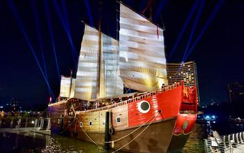 В Бангкоке открылся первый в Таиланде плавучий музей-корабль
