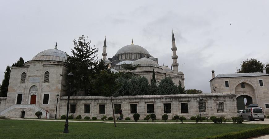 Мечеть Сулеймание в Стамбуле (Süleymaniye Camii)