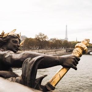Самая романтичная осень в Париже...
