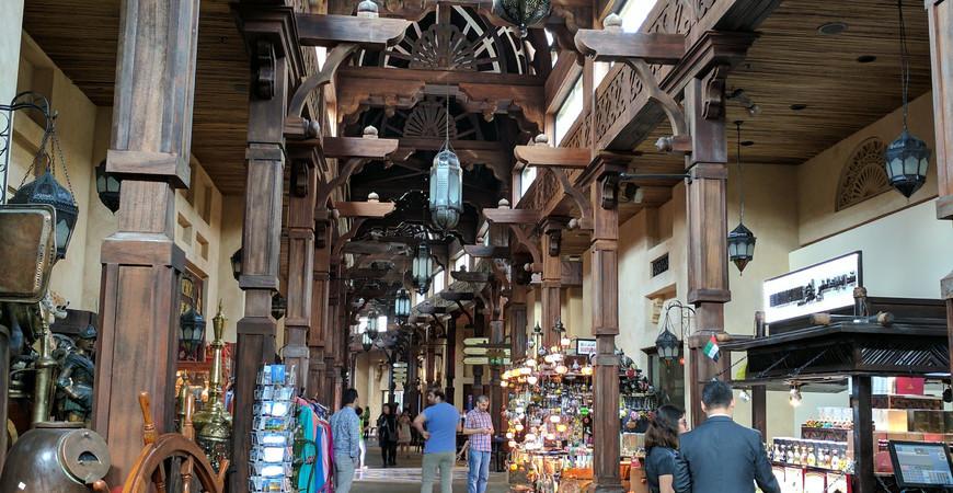 Рынок Мадинат Джумейра в Дубае (Souk Madinat Jumeirah)