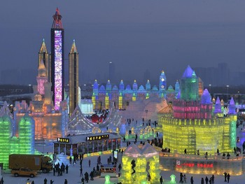 В Харбине начался Фестиваль снега и льда