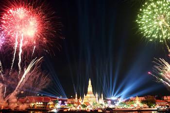 Бангкок в Новый год удивит гостей масштабным фейерверком