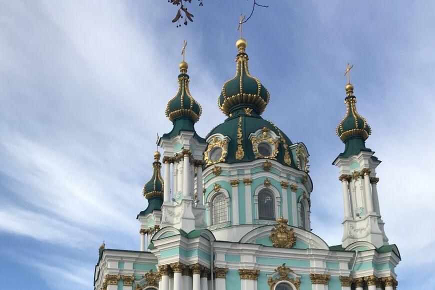 Андреевская церковь в Киеве - история, факты, фото