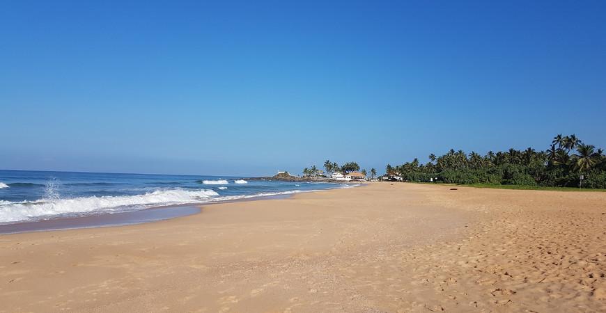 Пляж Ахунгалла (Ahungalla Beach)