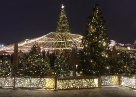 Новогодняя Москва ждет гостей