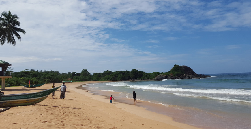Пляж Балапития (Balapitiya Beach)