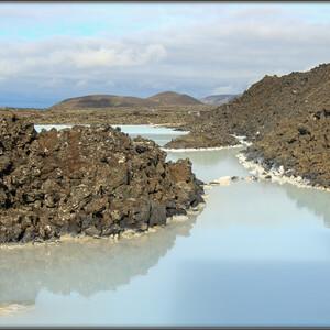 Исландия, день 8-й:Вулканы, водопад и лагуна