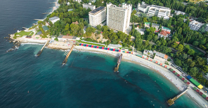Пляж санатория «Ай-Петри»