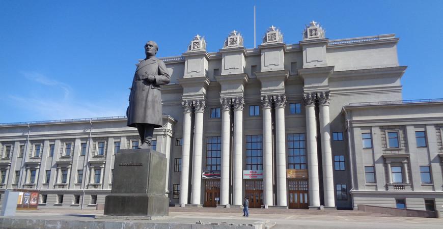 Театр оперы и балета в Самаре