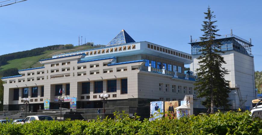 Национальный театр<br/> Горно-Алтайска