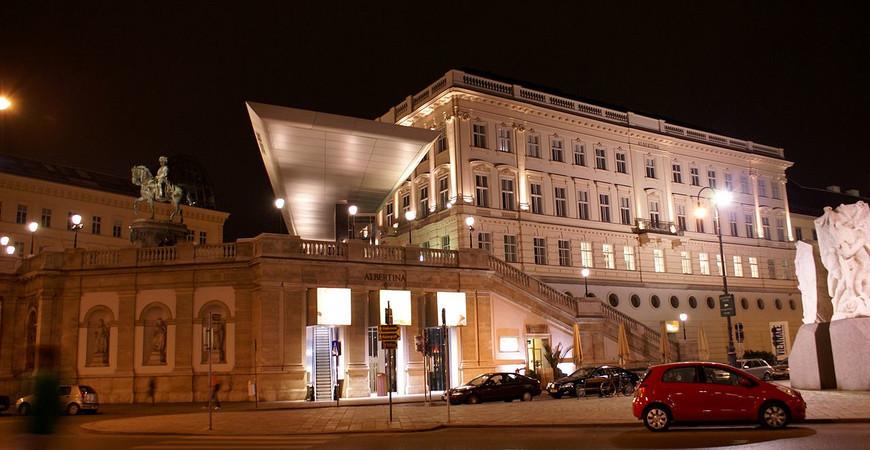 Галерея Альбертина в Вене (Albertina)